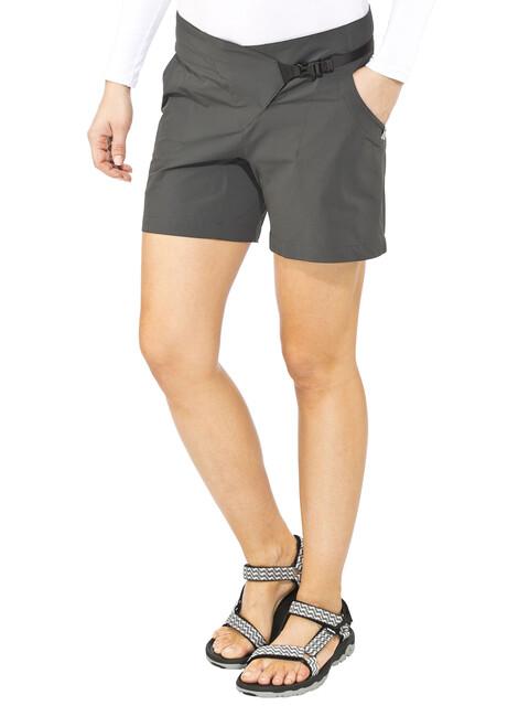 Klättermusen Vanadis korte broek Dames grijs